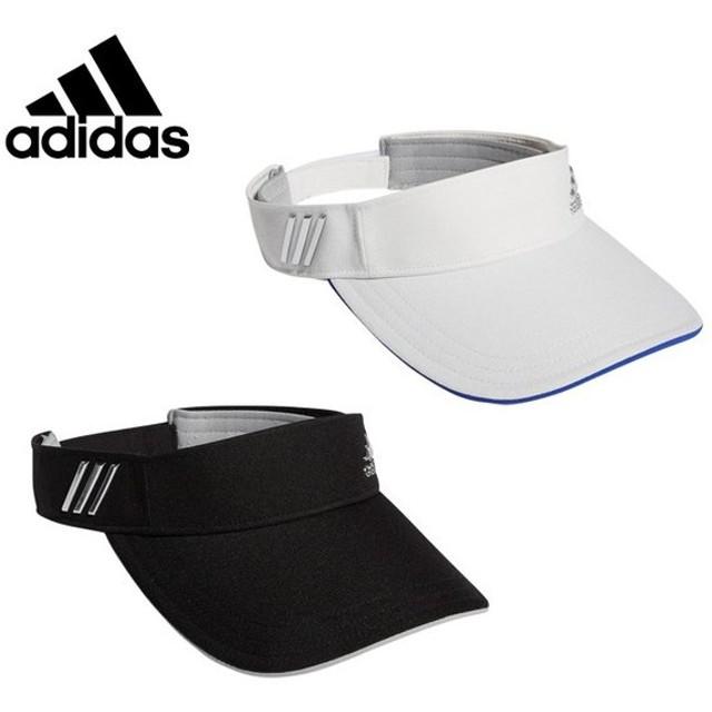 アディダス ゴルフ サンバイザー レディース メタリックロゴバイザー CCT62 adidas