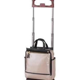 【オンワード】 ACE BAGS & LUGGAGE(エースバッグズアンドラゲージ) ≪soelte / ソエルテ≫ カランド バッグが取り外せる普段使いトローリー ベージュ F レディース 【送料無料】