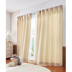 【送料無料!】シルキーカラー防炎カーテン ドレープカーテン(遮光あり・なし) Curtains, 窗, 窗簾