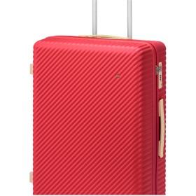 【オンワード】 ACE BAGS & LUGGAGE(エースバッグズアンドラゲージ) ≪HaNT/ハント≫マイン スーツケース 4-5泊用 75L 05747 レッド F レディース 【送料無料】
