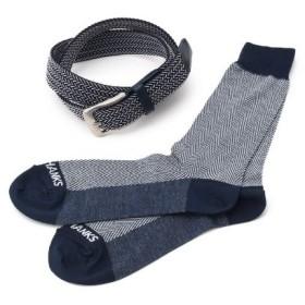 TAKEO KIKUCHI(タケオキクチ)ソックス&ベルトボックスセット [ メンズ 靴下 ベルト ギフト ]