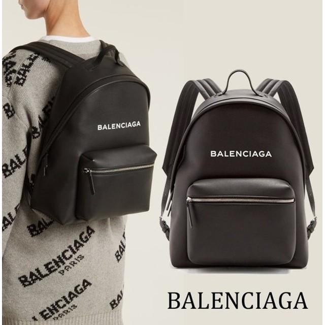 バレンシアガ BALENCIAGA エブリデイ ロゴ バックパック リュック シルバージッパー 5O2847D6W2N1000