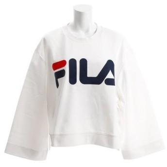フィラ(FILA) クルーネック スェットシャツ FL3206-01 (Lady's)