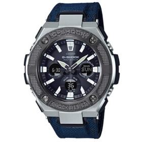 カシオソーラー電波腕時計G-SHOCK G-STEELブラック・バンド青GST-W330AC-2AJF