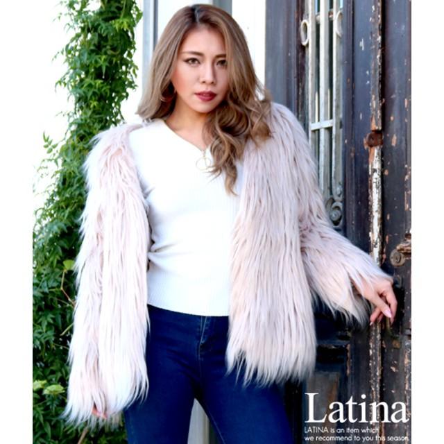anap Latina アナップラティーナ レディース ロングファーコート