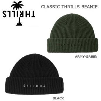 メンズ カジュアル ニット帽 スリルズ THRILLS CLASSIC メンズ カジュアル スリルズ THRILLS ビーニー