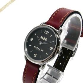 b14e78bff560 コーチ COACH レディース腕時計 Delancey デランシー 28mm ブラック×ボルドー 14502792 [在庫品]