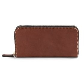 minca/Round zip wallet 01/CHOCO