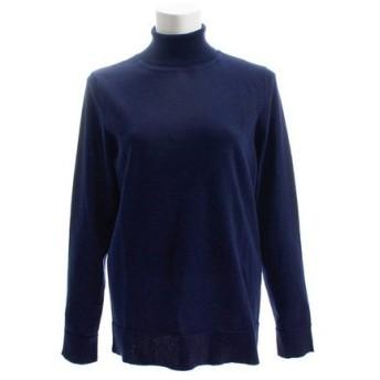 PGAC(PGAC) タートルネックセーター 872PA8NX3355NVY (Lady's)