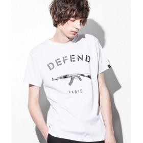 SHIFFON DEFEND PARIS(ディフェンド パリス) PARIS TEE Tシャツ メンズ ホワイト XL 【SHIFFON】