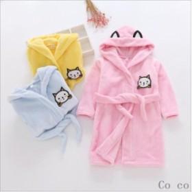 子供服 可愛い 女の子も バスローブ 着られます お風呂 上りからルームウェアに キッズ 子供用