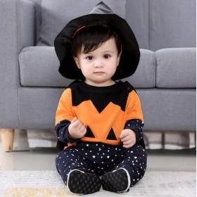 ハロウィン 仮装 子供ベビー服 コスプレ ベビーコスチューム 着ぐるみ ベビー ハロウィン 衣装 かぼちゃ お誕生日会 出産祝い 男の子 子供服80-110