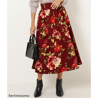 【セール開催中】ANAP(アナップ)サンディングフラワーモチーフマキシフレアスカート