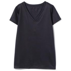 【30%OFF】 ビームス ウィメン Demi Luxe BEAMS / リヨセル ベーシックVネックTシャツ レディース NAVY 38 【BEAMS WOMEN】 【タイムセール開催中】