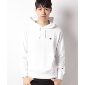 【5%OFF】 マルカワ チャンピオン パーカー ワンポイント メンズ ホワイト L 【MARUKAWA】 【セール開催中】