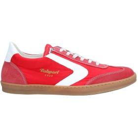 《期間限定セール開催中!》VALSPORT メンズ スニーカー&テニスシューズ(ローカット) レッド 40 革 / 紡績繊維