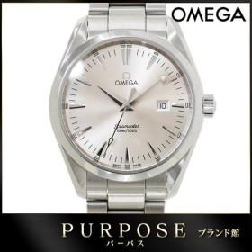オメガ OMEGA シーマスター アクアテラ 2517 30 メンズ 腕時計 デイト シルバー 文字盤 クォーツ ウォッチ