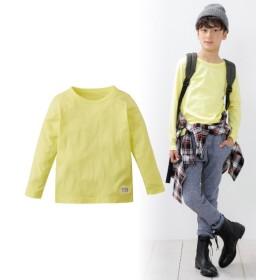 綿100%シンプル長袖Tシャツ(男の子。女の子 子供服。ジュニア服) Tシャツ・カットソー