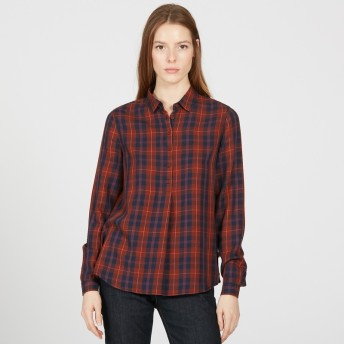 AIGLE レディース レディース カヤシャツ ZCFH802 AUBURN CH (004) シャツ・ポロシャツ
