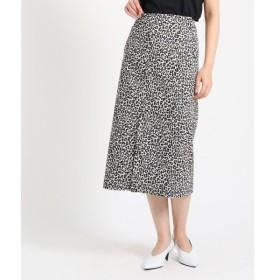 DRESSTERIOR / ドレステリア レオパードジャガード ストレートロングスカート