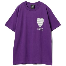 ビームス メン BEAMS T / Left My Heart Tee メンズ PURPLE L 【BEAMS MEN】