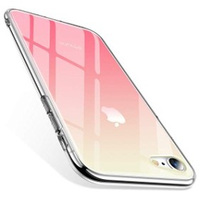 iPhone8ケース iPhone7ケース 強化ガラスケース グラデーション 背面ガラス9H硬度+TPUバンパー 全面保護 アイホンX カバー 光学 ...