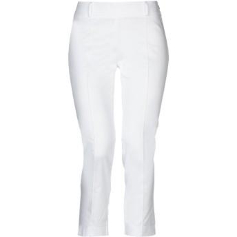 《セール開催中》LUNATIC レディース パンツ ホワイト S コットン 97% / ポリウレタン 3%