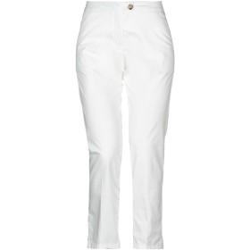 《セール開催中》WOOLRICH レディース パンツ ホワイト 26 コットン 98% / ポリウレタン 2%