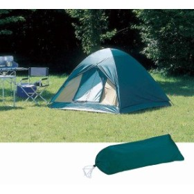 クレセント ドームテント〈3人用〉  M-3105 (送料無料)(テント、キャンプ用品、アウトドア)