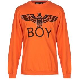 《セール開催中》BOY LONDON メンズ スウェットシャツ オレンジ XS コットン 100%