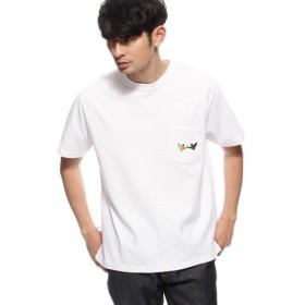 BASE STATION / ベースステーション MARK GONZALES別注 胸刺繍ポケットTシャツ