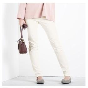 すごく伸びる綿混スキニーパンツ(股下68cm) (レディースパンツ),pants