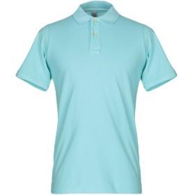 《期間限定 セール開催中》AUTHENTIC ORIGINAL VINTAGE STYLE メンズ ポロシャツ アジュールブルー S コットン 100%