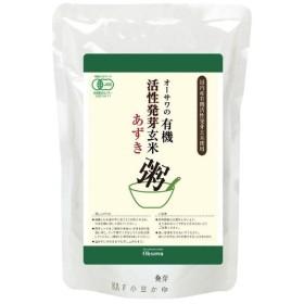 オーサワの有機発芽玄米あずき粥