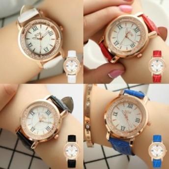 ラインストーン レディース 腕時計 アクセサリー