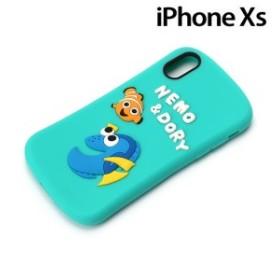 455be4c721 ディズニー iPhoneXS/X(5.8インチ)専用 シリコンケース ニモ&ドリー PG