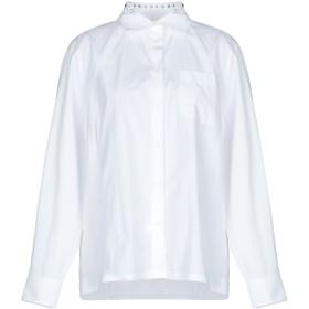 《期間限定 セール開催中》VALENTINO レディース シャツ ホワイト 38 コットン 100%