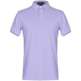 《期間限定 セール開催中》POLO RALPH LAUREN メンズ ポロシャツ ライラック S コットン 100%