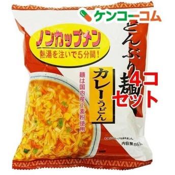 トーエー どんぶり麺・カレーうどん ( 4コ )