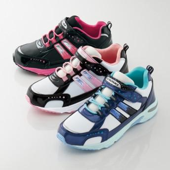 【格安-子供用靴】ガールズ幅広タイプ防滑防水スニーカー