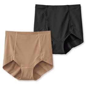 接触冷感。ストレッチ深ばきショーツ2枚組 スタンダードショーツ,Panties