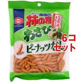 亀田の柿の種 わさび100% ( 115g6コ )/ 亀田の柿の種
