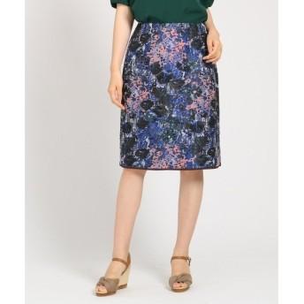 SunaUna / スーナウーナ 【洗える】LIMONTA フラワータイトスカート