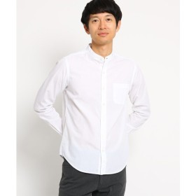 THE SHOP TK / ザ ショップ ティーケー コットンバンドカラーシャツ