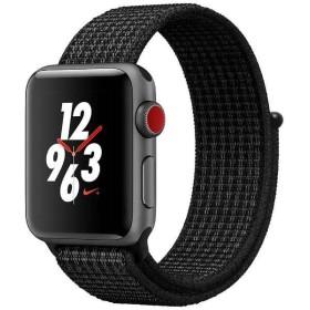 Apple Watch Nike+ Series 3 GPS+Cellularモデル 38mm MQMA2J/A ブラック/ピュアプラチナNikeスポーツループ