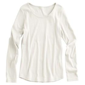 小さいサイズ 綿100%クルーネック長袖Tシャツ 【小さいサイズ・小柄・プチ】Tシャツ・カットソー, T-shirts, T恤