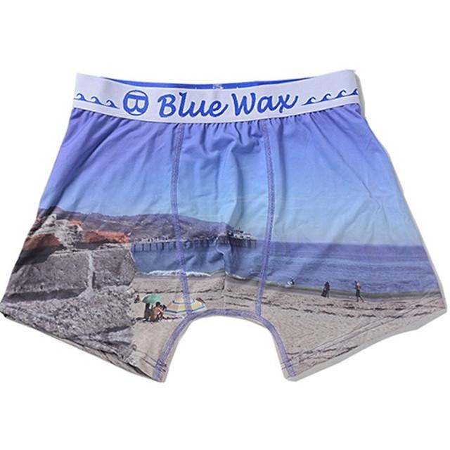 シルバーバレット BlueWaxThe sea and the bridge ボクサーパンツ メンズ その他 M(76-84cm) 【SILVER BULLET】