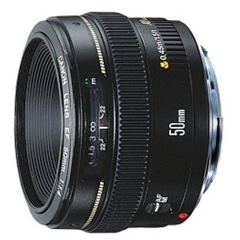 【中古 保証付 送料無料】Canon 単焦点レンズ EF50mm F1.4 USM /カメラレンズ /キヤノン 単焦点レンズ/一眼レフカメラ/初心者/送料無料