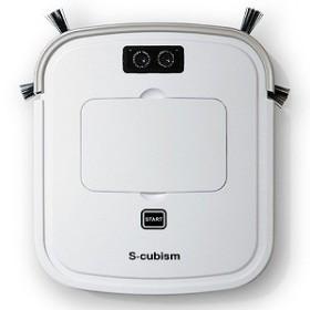 エスキュービズム 超薄型床用ロボット掃除機 SCC-R05PW