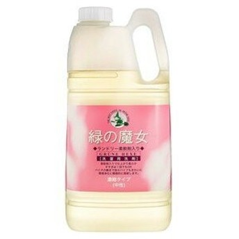 ミマスクリーンケア 緑の魔女 洗濯用洗剤柔軟剤入 2L